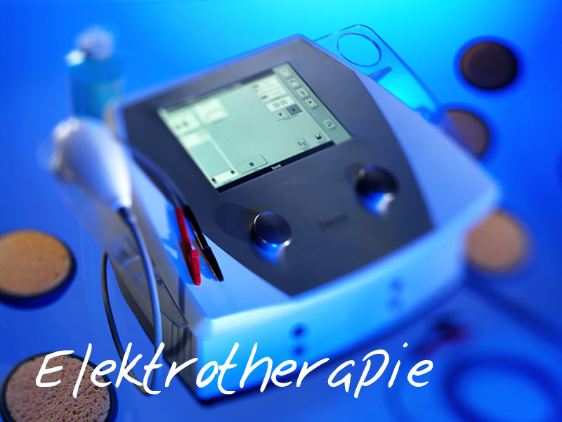 Physiotherapie mit Elektrotherapie