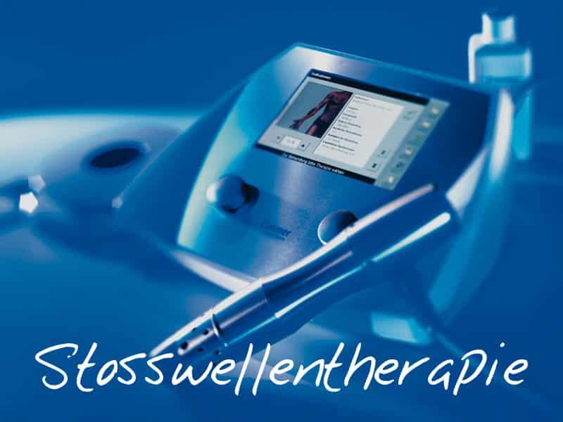 Physiotherapie mit Stosswellentherapie