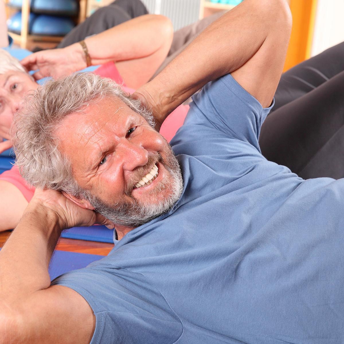 Therapie Rehasport mit Gymnastik