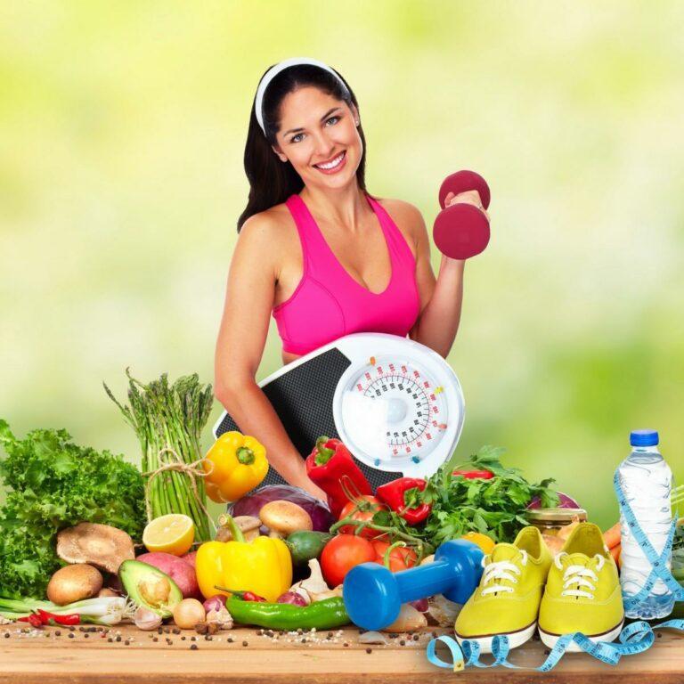 Schlanke Figur mit der richtigen Ernährung