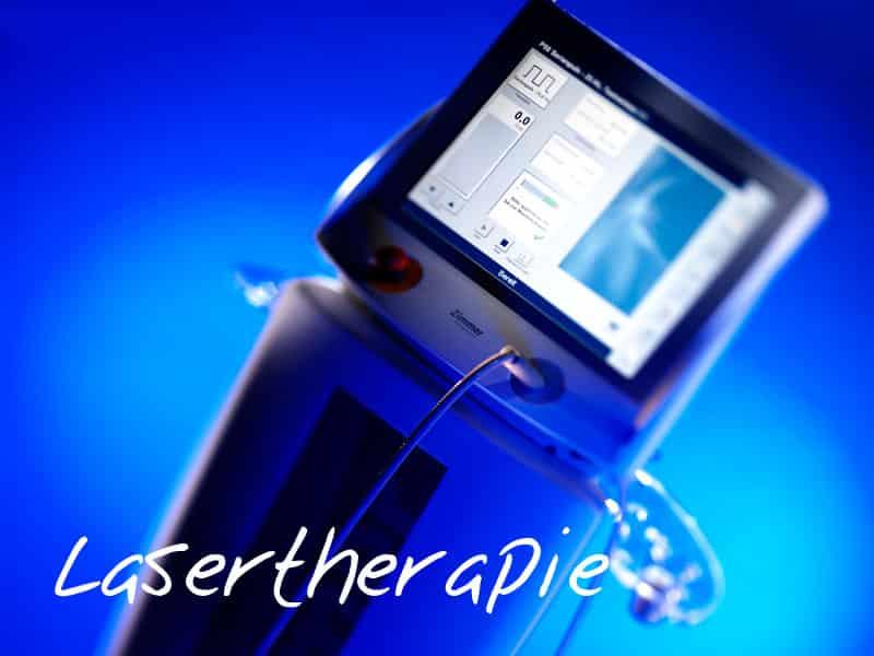 Physiotherapie mit Lasertherapie