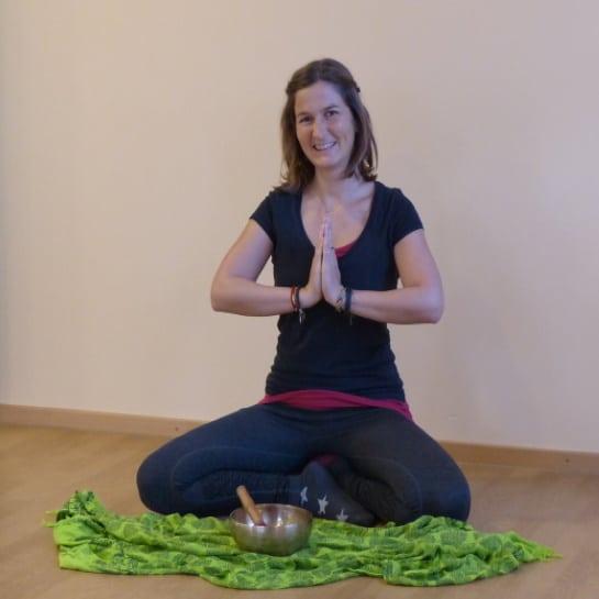 Fitnessstudio mit Yoga